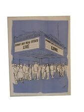 Sunny Day Real Estate Poster Live Blue Theater