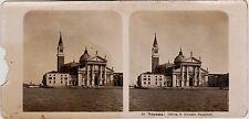 Venedig Venezia Chiesa Giorgio Maggiore Stereofoto Foto 1904