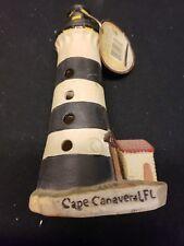 Lighthouse Decorative Porcelain Light House Collectible Cape Canaveral fl