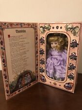 Nib Marie Osmond Storybook Doll: Thumbelina, includes Free Doll Stand