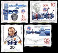 EBS East Germany DDR 1978 Common Space Flight USSR-DDR (II) Mi. 2359-2362 MNH**