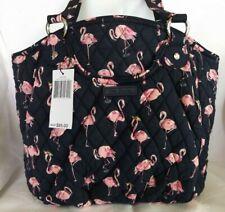VERA BRADLEY GLENNA Shoulder Bag Purse Pink Navy - Flamingo Fiesta  New with Tag