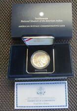 2001 American Buffalo Proof Silver Dollar BOX & COA