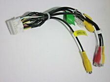 Kenwood Dnx890Hd Input & Output Av Rca Harness New Oem W1