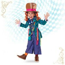 MAD HATTER Costume Alice Through Looking Glass Disney Store Boy Child XS Small 4