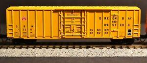 MICROTRAINS 27080 GREEN BAY & WESTERN RIB SIDE PLUG DOOR 50' BOXCAR - Road# 7356