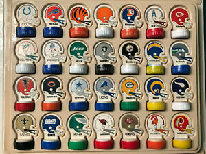 1970's-80's NFL FOOTBALL VINTAGE HELMET INK STAMPERS ONLY 1 EACH TEAM AVAILABLE!