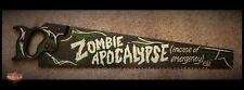 Personnalisé Zombie Apocalypse Scie Signe VW RAT ROD hotrod Pères Jour Harley Davidson