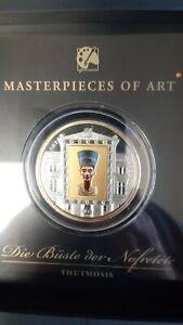 Cook Islands 20 Dollars 2012 Masterpieces of Art, Die Büste der Nofretete