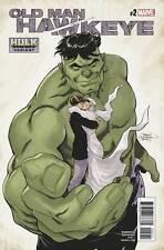 Old Man Hawkeye #2 Marvel Comics 2018 Terry & Rachel Dodson Hulk Variant Cover