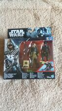 Star Wars Rogue One Rebel Commando Pao Imperial Death Trooper Action Figure Set