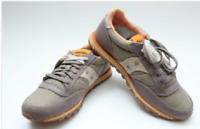 Hot sale!Saucony Jazz Low Pro Vegan S2887-15 Charcoal Orange Men's Running Shoes