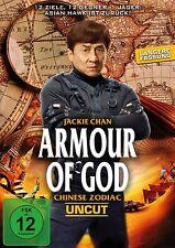 JACKIE CHAN/PLATT,OLIVER/QI,SHU/+ - ARMOUR OF GOD-CHINESE ZODIAC-UNCUT  DVD NEU