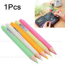 Highlighter Fluorescent Liquid Chalk Marker Pencil Shape Watercolor Pen Colorful