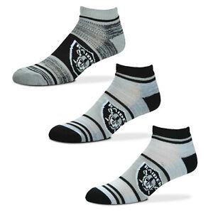 Oakland Raiders Triplex Heathered Crew Socks, Medium (5-10) FREE SHIPPING