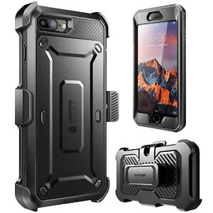 For iPhone 7 Plus / 8 Plus Case, SUPCASE Full-body Rugged Holster Cover + Screen