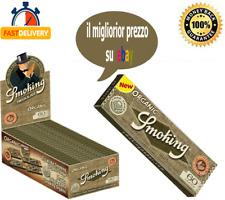 Cartine Smoking Organic in Canapa Regular Corte Scatola Box 25 / 50 Libretti ✅