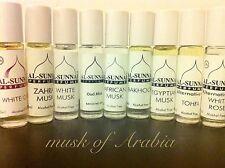 2 x al sunnah perfumes/attars/perfume oils**cheapest on ebay**