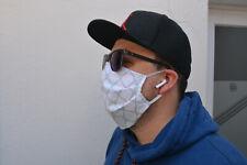 Mehrweg Behelfs-Mund-Nasen-Maske, Community-Maske, waschbar Baumwolle Farbwahl