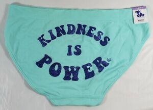 Justice Girls Glitter Positive Message Seamless Bikini Underwear