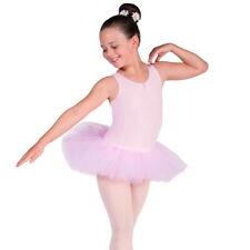 sLily Girls Ballet Tutu Dress Leotard Ballet Dress Pink White Ballerina Dance