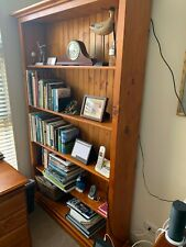 Pine Bookcase very good condition.