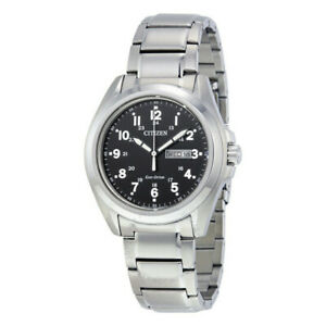 Citizen Eco-Drive Stainless Steel Men's Watch - AW0050-82E