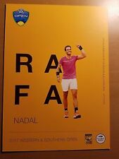 Rafa Nadal - 2017 Western & Southern Atp Tennis 5 x 7 Player Card
