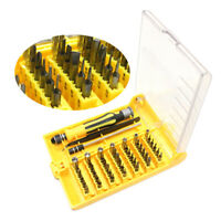 45 In 1 Magnetic Screwdriver Set With Tweezer Precision Screw Driver Hand Tools