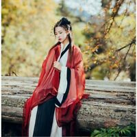 Chinese Ancient Dress Costume Vintage Fairy Clothes Hanfu Tang Women Girls Dress