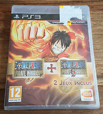 ONE PIECE PIRATE WARRIORS 1 + 2 Jeu Sony PS3 Playstation 3 Neuf Blister VF