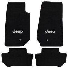 Jeep Wrangler 4 Pc All Weather Carpet Floor Mats JEEP Logo fits 2011-2013 2 Door