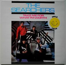 LP DE**THE SEARCHERS - TAKE ME FOR WHAT I'M WORTH (PRT '87 / RE-ISSUE)**27074