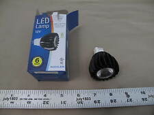 (1) New Kichler 12V 6W Clear 4200K Mr16 Bi-Pin G13 Led Lamp Bulb 38° Flood 18017
