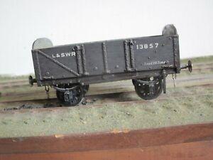 o gauge LSWR kit built wagon white metal