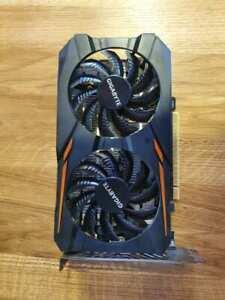*USED* GIGABYTE GeForce GTX 1050 TI Windforce OC 4GB GDDR5 Graphics Card