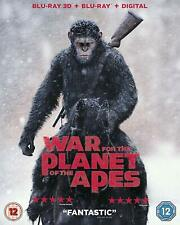 War For The Planet Of The Apes (3D + 2D Blu-ray) Andy Serkis, Woody Harrelson