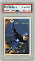 2010 BREWERS Trevor Hoffman signed card Topps #364 PSA/DNA AUTO Autographed