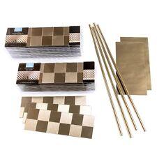 Aspect Peel and Stick Backsplash Square Matted Metal Tile (15 sq ft Kit)