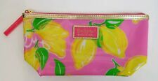 Lilly Pulitzer For Estee Lauder Pink With Lemons Makeup Bag