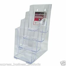 Deflect-o Brochure Holder A4 4 Tier - Jp77441
