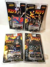 KISS Johnny Lightning Racing Dreams Stock Car Set of 4 1997!! NEW in Pack!!!!