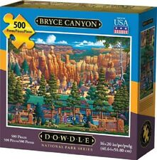 DOWDLE FOLK ART COLLECTORS JIGSAW PUZZLE BRYCE CANYON UTAH 500 PCS #00359