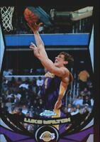 2004-05 Topps Chrome Refractors Black Basketball Card Pick