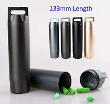 "Large 5.2"" Keychain EDC Medicine Case Pill Storage Box Capsule Holder Container"