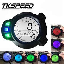 10000 RMP Motorcycle LCD Speedometer Tachometer Gauge For Yamaha BWS125  7color