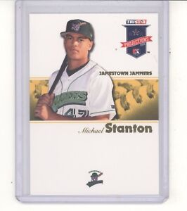 Giancarlo Stanton card /25 2008 Tristar Projections gold NM New York Yankees