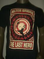 Men's M-XL Black Alter Bridge The Last Hero Hard Metal Rock Band Graphic T Shirt