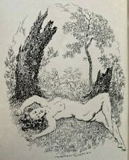 1951 NORMAN LINDSAY, IMMINENT SUMMER, RARE 1st SIGNED by Keesing, free shipping