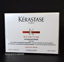 KERASTASE NUTRITIVE MASQUINTENSE FINE HAIR 200ml or 6.8oz SEALED !!NEW IN BOX !!